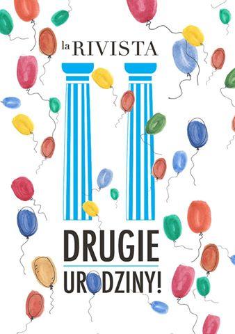 La Rivista - drugie urodziny!