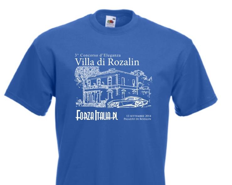 Koszulka Forza Italia 2014